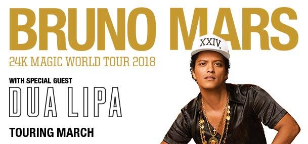 bruno mars concert 2018 limousines in paradise. Black Bedroom Furniture Sets. Home Design Ideas