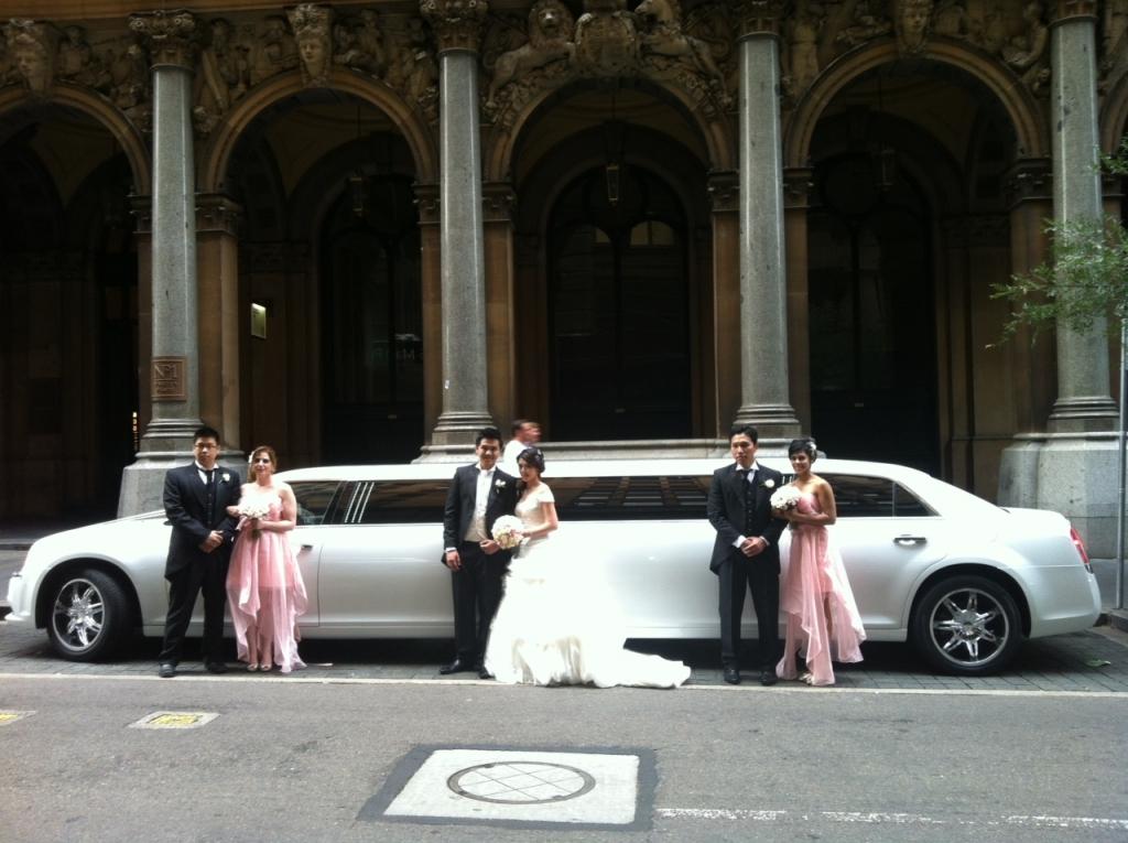 wedding limousines, Weddings